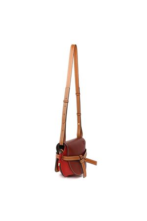 BORSA A SPALLA GATE SMALL IN PELLE E RAFFIA PE 2020 LOEWE | 2 | 321.54.T20GATE SMALL7074