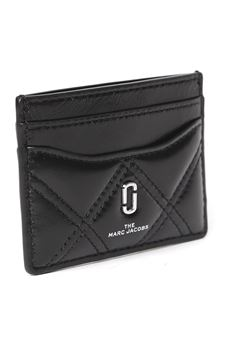 BLACK QUILTED LEATHER CARDHOLDER SS 2020 MARC JACOBS | 34 | M00157801001