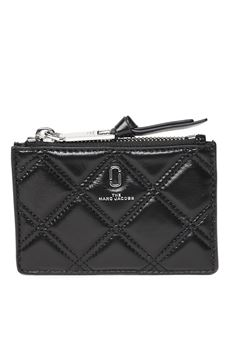 SOFTSHOT BLACK QUILTED LEATHER WALLET SS 2020 MARC JACOBS | 34 | M00158651001