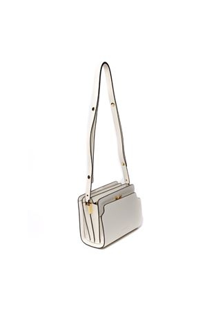 TRUNK REVERSE WHITE NAPPA LEATHER SHOULDER BAG SS 2020 MARNI | 2 | SBMP0024Y0P2991Z276M
