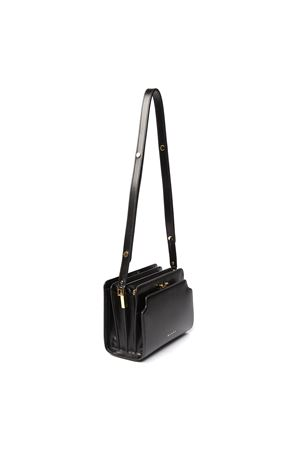 TRUNK REVERSE BLACK NAPPA LEATHER SHOULDER BAG SS 2020 MARNI | 2 | SBMP0024Y0P2991Z279M