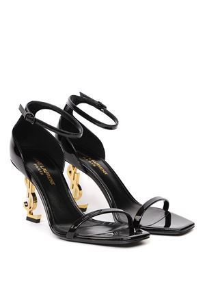 OPYUM BLACK PATENT LEATHER SANDALS SS 2020 SAINT LAURENT | 87 | 5576790NPKK1000