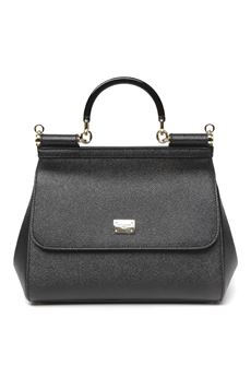 BLACK SICILY LEATHER BAG SS 2020 DOLCE & GABBANA | 2 | BB6002B543880999