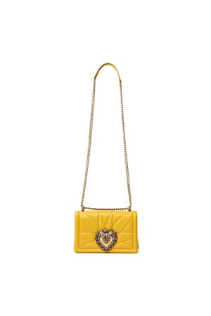 BORSA DEVOTION MEDIA GIALLA IN NAPPA PE 2020 DOLCE & GABBANA | 2 | BB6652AV96780062