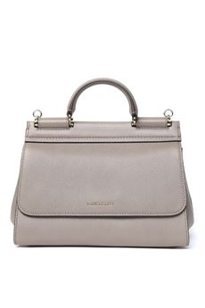 TAUPE SICILY SOFT LEATHER BAG SS 2020 DOLCE & GABBANA | 2 | BB6755AA40987148