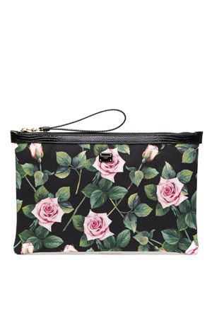 MULTICOLOR FLOWER FABRIC CLUTCH SS 2020 DOLCE & GABBANA | 110000025 | BI1184AJ759HN96C