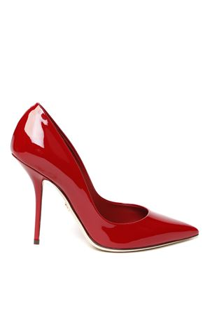 RED PATENT LEATHER PUMPS SS 2020 DOLCE & GABBANA | 68 | CD1475A147187515