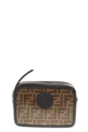 MINI BAG IN PELLE MOGANO PE 2020 FENDI | 180000087 | 8BS019A5K4F14TU