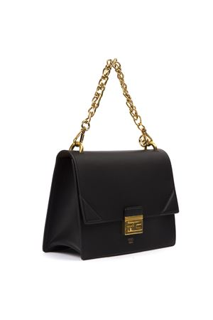 KAN U BLACK LEATHER BAG SS 2020 FENDI | 2 | 8BT313A5DYF15ZW