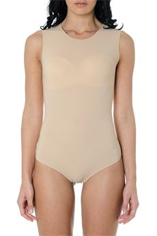 STRETCH-JERSEY NUDE COLOR BODYSUIT SS 2020 MAISON MARGIELA | 110000124 | S51NA0065S20518121