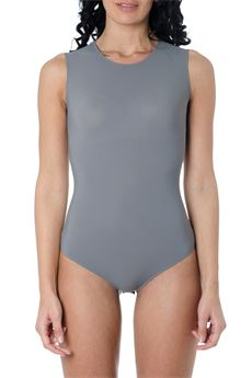 STRETCH-JERSEY GREY COLOR BODYSUIT SS 2020 MAISON MARGIELA | 110000124 | S51NA0065S20518814
