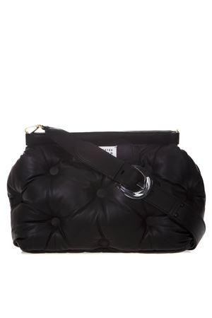 MEDIUM GLAM SLAM BLACK QUILTED LEATHER BAG SS 2020 MAISON MARGIELA | 2 | S61WG0034PR818T8013