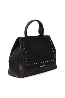 BLACK CLARYS L LEATHER BAG SS 2020 MARC ELLIS | 2 | CLARYS L-BLACK SOLID