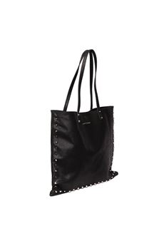 BLACK SHARYL LEATHER BAG SS 2020 MARC ELLIS | 2 | SHARYL-BLACK SOLID