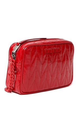 RED QUILTED LEATHER BAG SS 2020 MIU MIU | 2 | 5BH118VMOM2D6CF0011