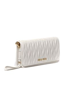 WHITE QUILTED LEATHER BAG SS 2020 MIU MIU | 2 | 5DH029N88F0009