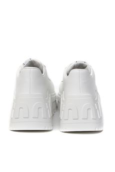 WHITE LEATHER HIGH SNEAKER SS 2020 MIU MIU | 48 | 5E758CF0853AQNF0009