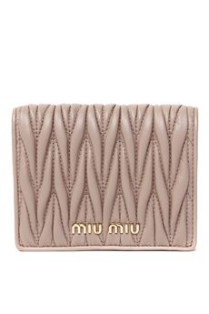 MATELASSÈ NAPPA LEATHER WALLET SS 2020 MIU MIU | 34 | 5MV204N88F0770