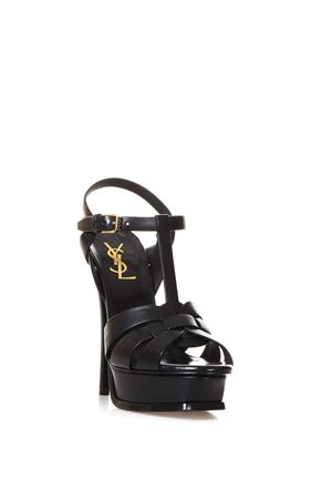 140MM TRIBUTE LEATHER SANDALS SS 2020 SAINT LAURENT | 87 | 315487BDA001000
