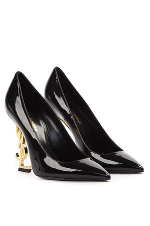 OPYUM YSL LOGO HEEL PATENT LEATHER PUMPS SS 2020 SAINT LAURENT | 68 | 4720110NPKK1000