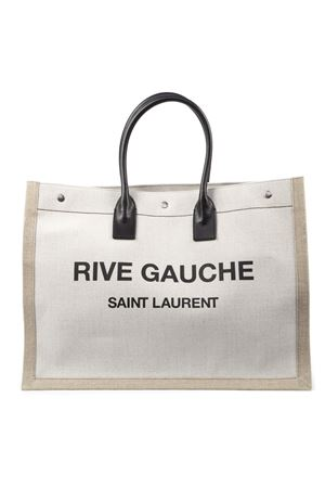 RIVE GAUCHE CANVAS TOTE BAG SS 2020 SAINT LAURENT | 2 | 5094159J52D9280