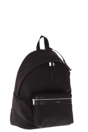 ZAINO CITY IN NYLON E PELLE COLOR NERO AI 2019 SAINT LAURENT | 183 | 534967GIV3F1000