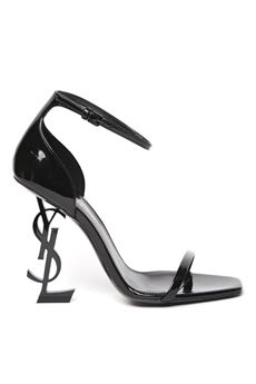OPYUM BLACK PATENT LEATHER SANDALS SS 2020 SAINT LAURENT | 68 | 5576620NPVV1000