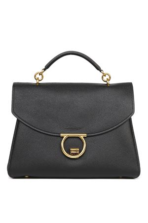 BLACK LEATHER GANCINI HANDBAG SS 2020 SALVATORE FERRAGAMO | 2 | 72016221H320044