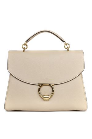 CREAM LEATHER GANCINI HANDBAG SS 2020 SALVATORE FERRAGAMO | 2 | 72050321H320048