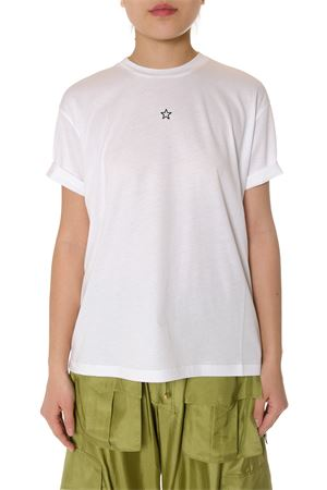 MINI STAR EMBOIDERY WHITE COTTON T-SHIRT SS 2020 STELLA McCARTNEY | 15 | 457142SIW209000