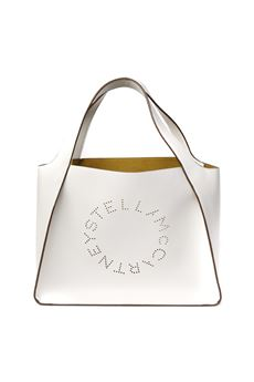 PERFORATED LOGO IN WHITE ALTER NAPPA TOTE  PE 2020 STELLA McCARTNEY | 2 | 502793W85429000
