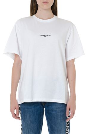 WHITE JERSEY T-SHIRT STELLA McCARTNEY 2001 SS 2020 STELLA McCARTNEY | 15 | 511240SMW219000