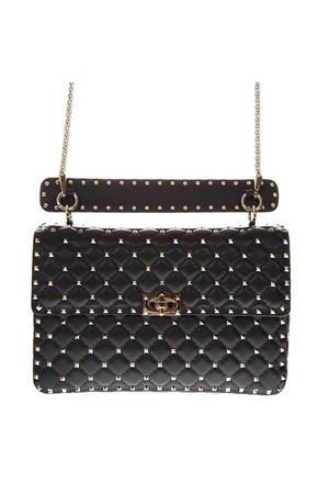 ROCKSTUD SPIKE BLACK QUILTED LEATHER BAG SS 2020 VALENTINO GARAVANI | 2 | TW2B0121NAP0NO