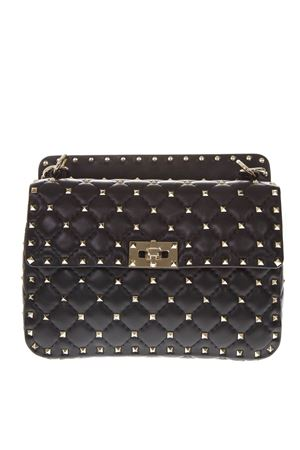 SPIKE BLACK QUILTED LEATHER BAG SS 2020 VALENTINO GARAVANI | 2 | TW2B0122NAP0NO