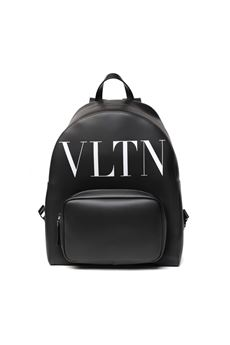 VLTN BLACK LEATHER BACKPACK SS 2020 VALENTINO GARAVANI | 183 | TY2B0876WJW0NI