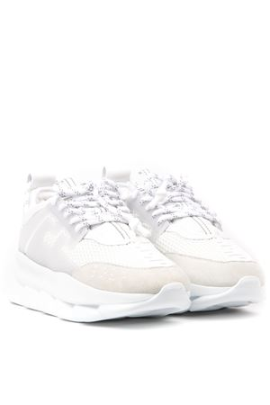 VERSACE CHAIN REACTION WHITE SNEAKERS SS 2020 VERSACE | 55 | DSR705GD7CTGD01