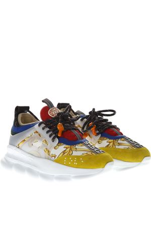 CHAIN REACTION MULTICOLOR HIGH SNEAKERS SS 2020 VERSACE   55   DSU7071ED16TGDB5