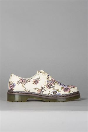 LESTER SHOES IN FLORAL PRINTED CANVAS SS 2014 DR. MARTENS | 208 | LESTER DONNA8 EYE BEIGE