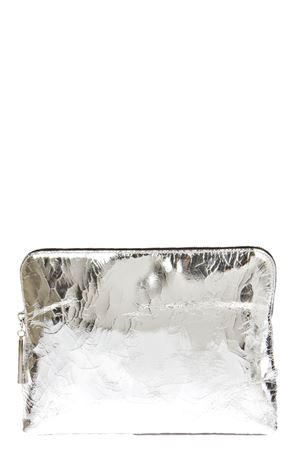 SILVERY LEATHER CLUTCH SS 2016 3.1 PHILLIP LIM | 2 | AH15-0338CKMCOSMETIC ZIPSILVER