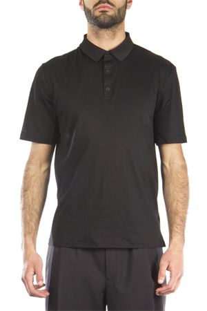 BLACK STRETCH COTTON POLO SS 2016 ALEXANDER WANG | 11 | 500208S161001