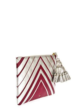 CLUTCH GEORGIANA DIAMONDS PE 2016 ANYA HINDMARCH | 2 | 9153041SILVER