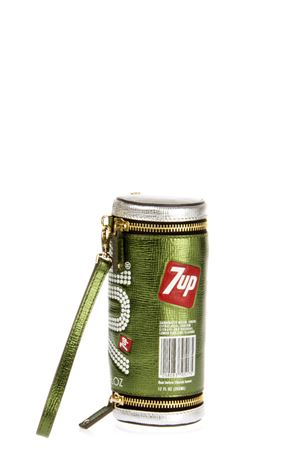 CLUTCH \7UP\ IN PELLE PE 2016 ANYA HINDMARCH | 2 | 9197601OLIVE