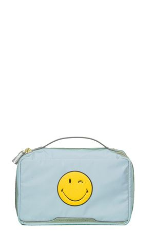 POCHETTE IN NYLON CON SMILE AI 2016 ANYA HINDMARCH | 5 | 9237981GREY