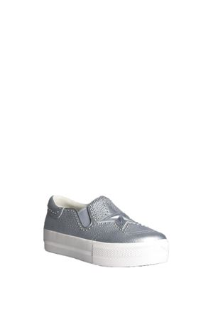 LEATHER SLIP-ON SS 2016 ASH | 55 | JAGGERMETEOR SILVER