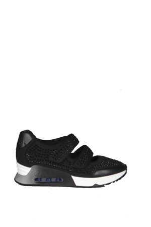 TECHNO FABRIC & LEATHER SNEAKERS SS 2016 ASH | 55 | LALLECOMBO ABLACK