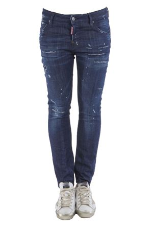 JEANS COOL GIRL IN COTONE STRETCHPE 2016 DSQUARED2 | 4 | S75LA0730S30342470