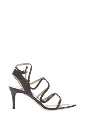 PATENT LEATHER SANDALS SS 2016 GIANVITO ROSSI | 87 | G3030170RICBLACK