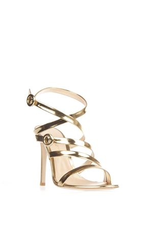METALLIC LEATHER SANDALS SS 2016 GIANVITO ROSSI | 87 | G3052715RICMEKONG