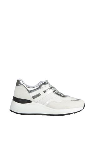 Mash fabric and suede sneakers HOGAN REBEL | 55 | HXW2960V142D6K0351