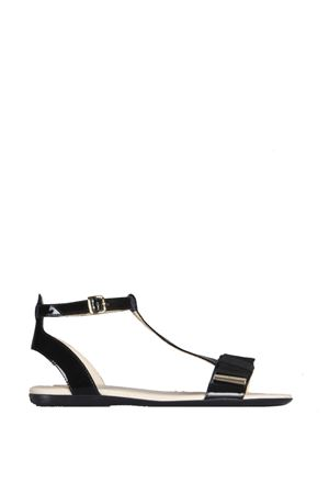 BLACK PATENT LEATHER SANDALS SS 2016 HOGAN | 87 | HXW1330U700OW0B999